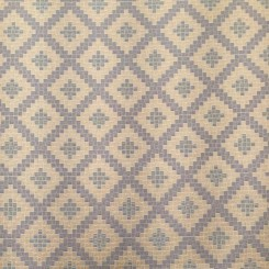 16 Yards Diamond Plaid/Check  Basket Weave  Fabric