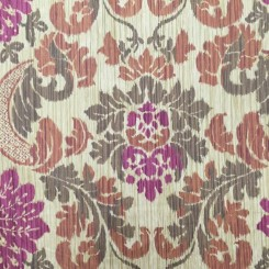 6 Yards Damask  Woven  Fabric