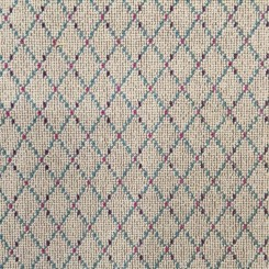2 Yards Diamond  Textured Woven  Fabric
