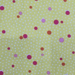 3 1/4 Yards Polka Dots  Print  Fabric