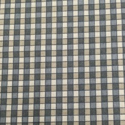 15 1/4 Yards Plaid/Check  Print  Fabric