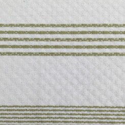 6 Yards Stripe  Textured Woven  Fabric