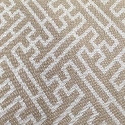 6 1/2 Yards Geometric  Woven  Fabric