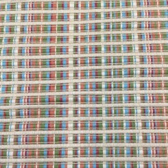2 Yards Plaid/Check Stripe  Ribbed  Fabric