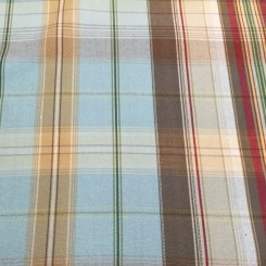 5 3/4 Yards Plaid/Check  Woven  Fabric