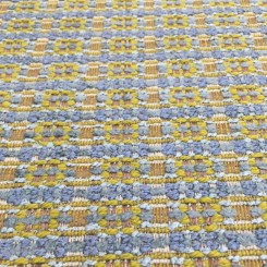 1 1/2 Yards Plaid/Check  Chenille Textured  Fabric