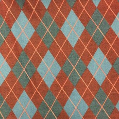 13 Yards Diamond Plaid/Check  Woven  Fabric