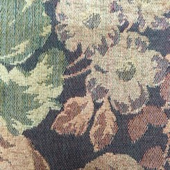5 Yards Floral  Woven  Fabric