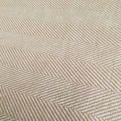 9 3/4 Yards Herringbone  Woven  Fabric