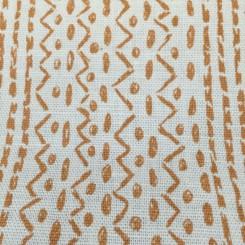 8 Yards Geometric Stripe  Woven  Fabric