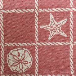 4 Yards Nautical Plaid/Check  Woven  Fabric