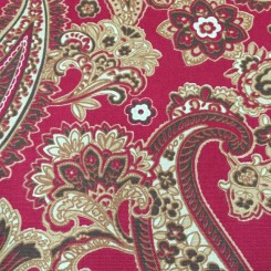 7 1/2 Yards Paisley  Print  Fabric
