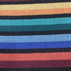 27 Yards Stripe  Print  Fabric