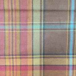 16 1/4 Yards Plaid/Check  Woven  Fabric