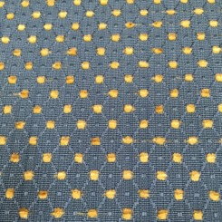 5 1/4 Yards Diamond Polka Dots  Textured  Fabric
