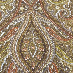 8 1/4 Yards Paisley  Print  Fabric