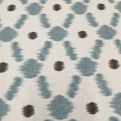 2 Yards Diamond Polka Dots  Print  Fabric
