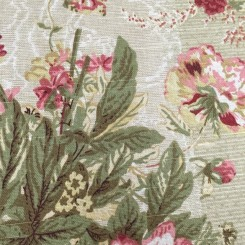 3 1/2 Yards Floral  Print  Fabric