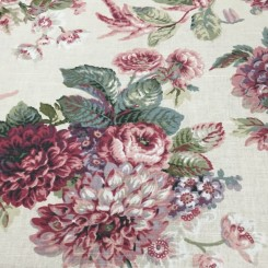 4 1/2 Yards Floral  Print  Fabric