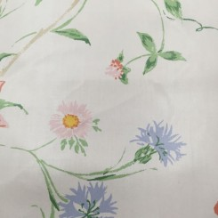 9 Yards Floral  Vinyl  Fabric