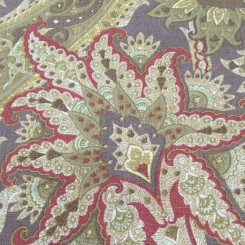4 Yards Paisley  Print  Fabric