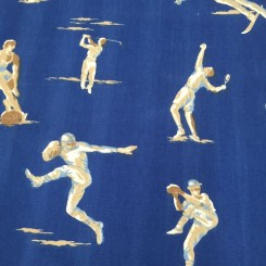 3 Yards Sports  Print  Fabric