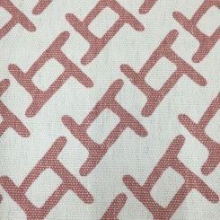 3 Yards Geometric  Basket Weave Print  Fabric