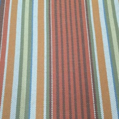 3 Yards Stripe  Basket Weave  Fabric