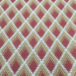 2 Yards Diamond  Woven  Fabric