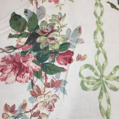 9 Yards Floral  Print  Fabric