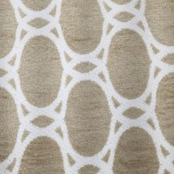 1 3/4 Yards Geometric  Chenille Textured  Fabric
