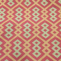 9 1/4 Yards Geometric  Woven  Fabric