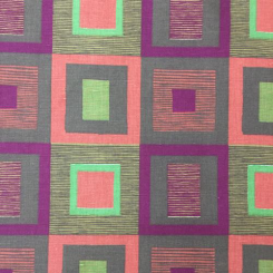 6 1/2 Yards Geometric Plaid/Check  Print  Fabric