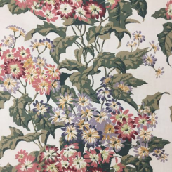 17 Yards Floral  Print  Fabric