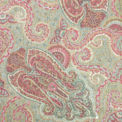 1 1/2 Yards Paisley  Print  Fabric