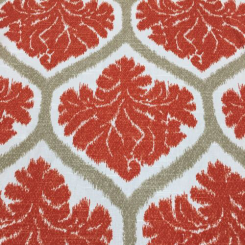 6 Yards Damask Geometric  Print  Fabric
