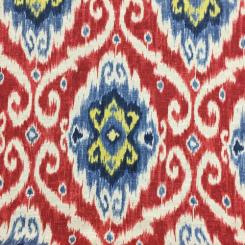 8 1/2 Yards Ikat  Basket Weave Print  Fabric
