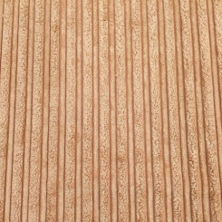 6 Yards Stripe Solid  Chenille Textured  Fabric