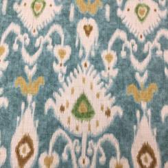 15 Yards Ikat  Basket Weave Print  Fabric