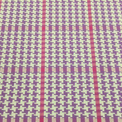 9 1/2 Yards Houndstooth Plaid/Check  Woven  Fabric