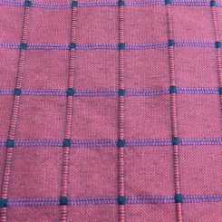 10 Yards Plaid/Check  Textured  Fabric