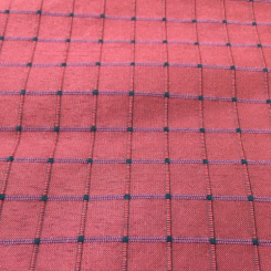 13 1/2 Yards Plaid/Check  Textured  Fabric
