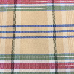7 1/2 Yards Plaid/Check  Woven  Fabric