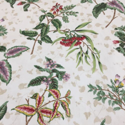 8 Yards Floral  Print  Fabric