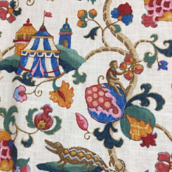 16 1/2 Yards Animal Children  Print  Fabric