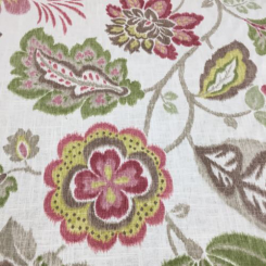 5 1/2 Yards Floral  Print  Fabric
