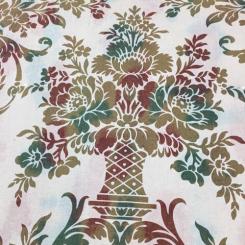11 Yards Damask  Textured Print  Fabric