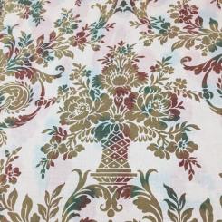 9 1/2 Yards Damask  Print  Fabric