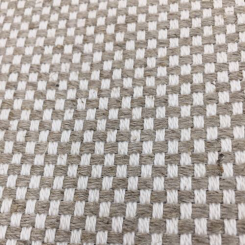 3 1/2 Yards Plaid/Check  Basket Weave  Fabric