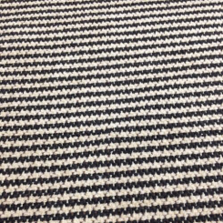 4 Yards Houndstooth Stripe  Woven  Fabric